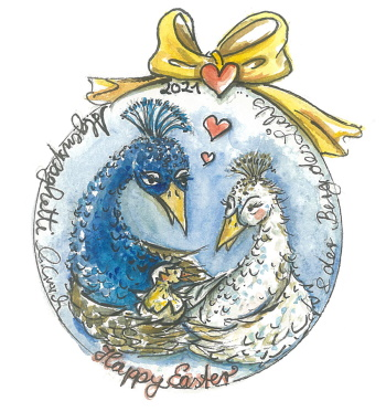 bluestar verlag happy easter 21 350